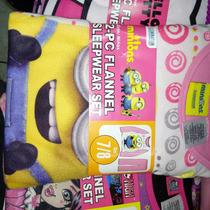 Pijama Infantil Importada Para Niña De Minions