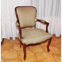 Antiguo Sillon Estilo Luis Xv Poltrona Dormitorio