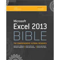 Microsoft Excel 2013 Bible (frete Grátis)