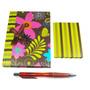 Caderno Anotações Caneta E Agenda Telefônica