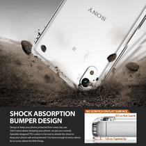 Ringke Fusion Funda Para Sony Xperia Z5 Normal Bumper + Mica