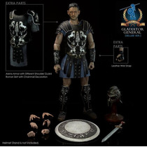 Hot Pangaea Gladiator General Deluxe Ver. Rusell Crowe Toys