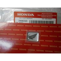 Adesivo Logo Resinado Painel Guidão Honda Biz, Twister, Cbr