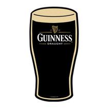 Guinness Cerveza Pinta Lamina Retro Vintage Poster