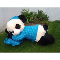 Osa Panda Dormilona De Peluche Gigante 100cms X 55 Cms