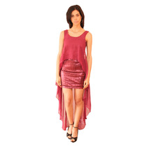 Vestido Fiora, Lentejuelas Con Capa De Gasa, Brishka V-0044