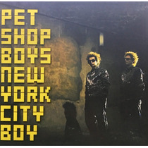 Cd Pet Shop Boys New York City Boy Promo Usado