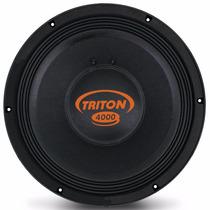 Woofer Para Projeto Som Carro Triton Tr 4000 12 4000w 2ohms