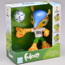 Boneco Fuleco Elka Oficial Fifa 17cm Corpo Articulado