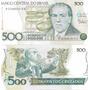 100 Billetes De Brasil 500 Cruzados Pick 212c Sin Circular