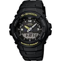Reloj Casio G-shock G100 Wr 200 Doble Tiempo Iluminator