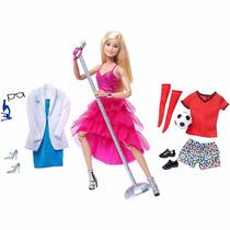 Lançamento Barbie Made To Move 2016 Loira 3 Estilos