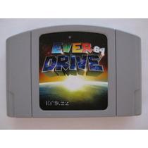 Everdrive Flashcard P/ Nintendo 64 V2.5 Krikzz, Roda Nes!