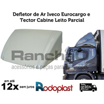 Defletor De Ar Iveco Eurocargo/tector Cabine Leito Parcial