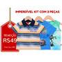 Kyly - Kit 3 Camisetas Infantis - Tam-2 - Frete Único R$10