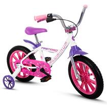 Bicicletas Infantil Alumínio Nathor Aro 14 Firstpro Menina