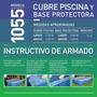 Cubre Pileta Y Base Protectora Pelopincho 1055 Piscina