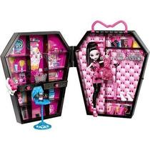 Closet Monster High Com Boneca Draculaura, Acessorios Mattel