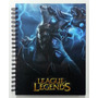 Cuadernos League Of Legends, Halo 5, Sw, Asasins Creed, Lol