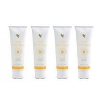 Aloe Sunscreen Forever Living Protetor Solar - Kit Com 04