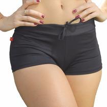 Shorts De Piscina Feminino - Moda Praia (trend Preto)