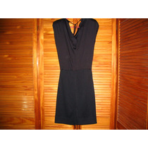 Excelente Vestido Negro Arriba Amplio Sirve Embarazada Noche