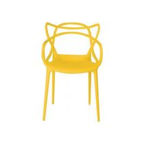 Cadeira Allegra Philippe Starck Polipropileno Amarela