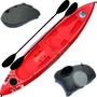Kayak Triplo Atlantikayak 3 Persona + Tambucho Caja De Pesca