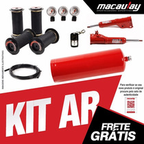 Fiat Novo Uno - Kit Suspensão Ar 8mm Macaulay Oficial