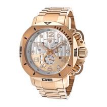 Lindo Relógio Swiss Legend Scubador 10538-rg-22s 49mm !