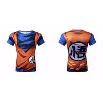 Playeras 3d Dragon Ball, Goku, Vegeta Jersey Baratas