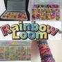 Rainbow Loom + Telar + 2400 Ligas + Agujas + Clips
