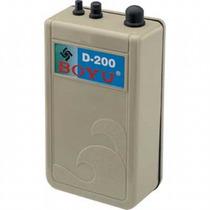 Bomba De Ar Para Aquário Compressor A Pilha D-200