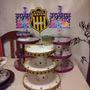 Porta Moffins Cumpleaños Fiestas Cotillon Peñarol Nacional