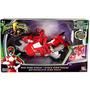 Power Ranger Ciclo Con 4 Ciclo De La Figura De Red Dino