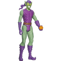 Boneco Titan Hero Web Warriors 30 Cm Duende Verde - Hasbro