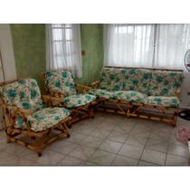 Sofa + 2poltronas Cana Da Índia