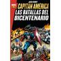 Marvel Gold Capitan America Batallas Del Bicentenario Panini