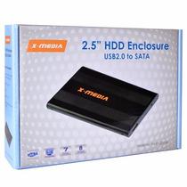 Enclosure Para Disco Duro X-media Xm-en2200-bk 2.5 Sata Usb