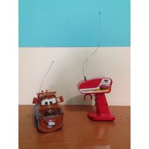 Cars. Grua Tow Mater A Control Remoto. De Mattel. Juguete.
