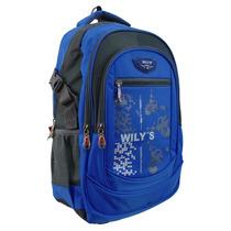 Mochila Juvenil Wilys Porta Laptop 15 Pulgadas Wt0058-3