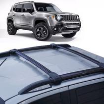Bagageiro Jeep Renegade 2015 16 17 Rack De Teto 4 Peças Bepo