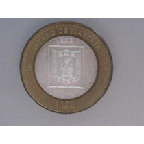 Moneda De 100 Pesos Estado De Tlaxcala