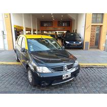 Taxi Renault Logan 1.6 2010 Gnc Impecable Taxis Licencias