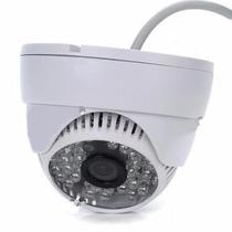 Camera Dome Ccd Sony 1200linhas Cftv Hd Led Infravermelho Ir