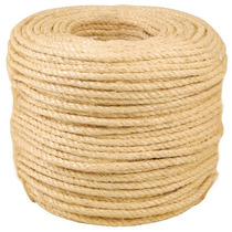 Corda Sisal Natural 10mm Por Metro Ideal Para Artesanato