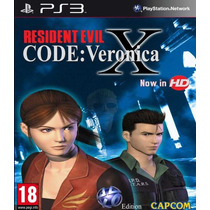 Resident Evil Code: Veronica X Ps3 Zona Games ;)
