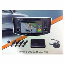 Sensor Estacionamento Para Dvd E Multimidia C/camera De Ré