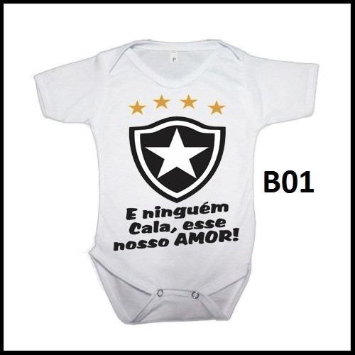 Saida Maternidade Personalizado Time Botafogo C  Nome - R  25 b13c6ebd77933