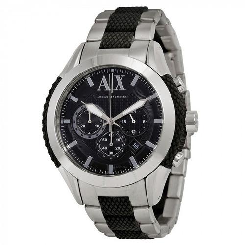 ab7c43f4f3b Relógio Armani Exchange Ax1214 Prata preto - R  899